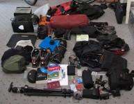Ausrüstungshaufen